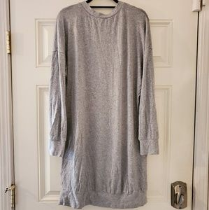Forever 21 Dresses - Grey sweater dress, Forever21